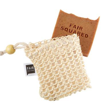 Peelingsaeckchen mit Seife