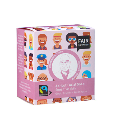Apricot Facial Soap sensitive skin, Gesichtsseife