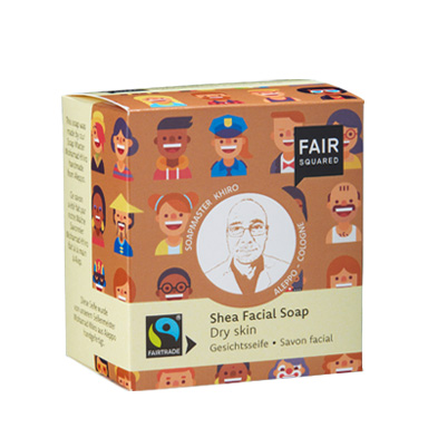 Shea Facial Soap dry Skin, Gesichtsseife
