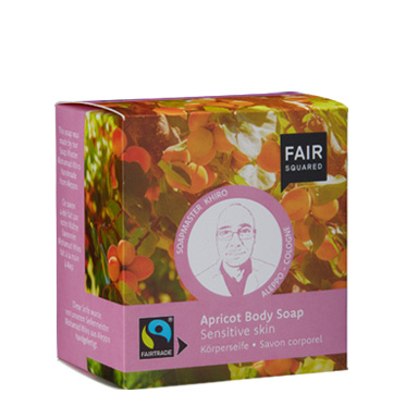 Apricot Body Soap sensitive skin, Koerperseife