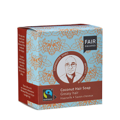 Coconut Hair Soap greasy hair, Haarseife