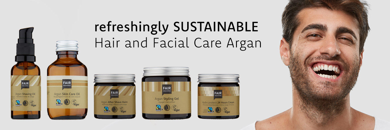 refreshingly sustainable. Hair and Facial Care Argan